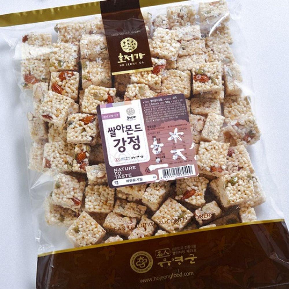 Changpyeong Rice Almond Crunch 500G