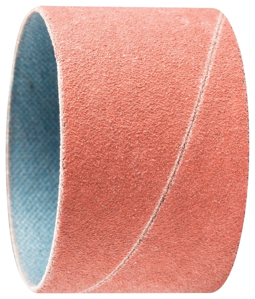 PFERD 41422 Cylindrical Type Abrasive Spiral Band, Aluminum Oxide A-Cool, 1-3/4'' Diameter x 1-1/8'' Length, 150 Grit (Pack of 100)