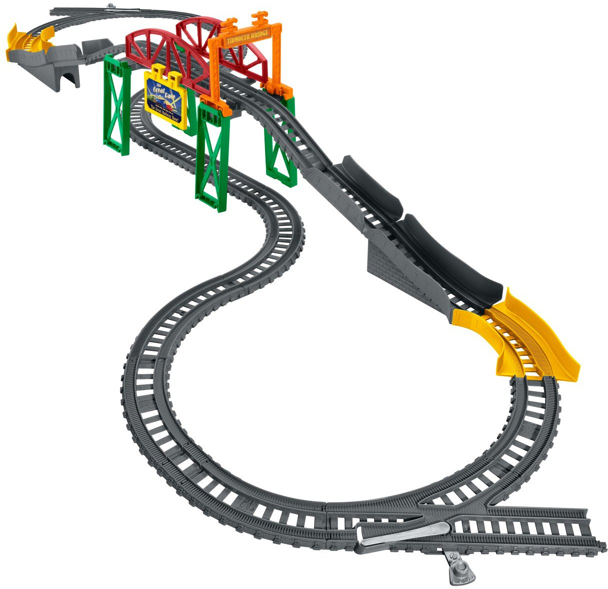 Fisher price thomas amp friends trackmaster treasure chase set new - Amazon Com Fisher Price Thomas Friends Trackmaster Over Under Tidmouth Bridge Toys Games