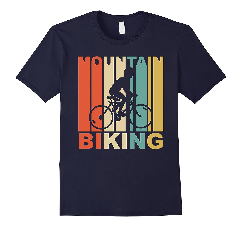 Vintage 1970s Style Mountain Biking T Shirt Goatstee