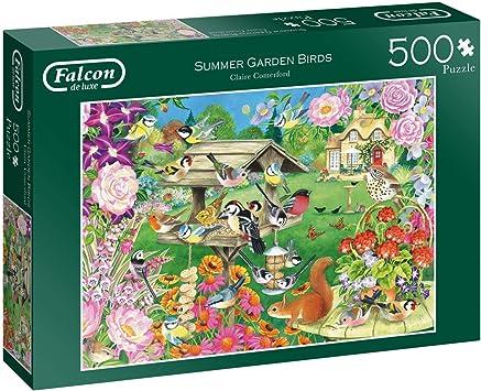 Falcon Summer Garden Birds Jigsaw Puzzle 500 pièces