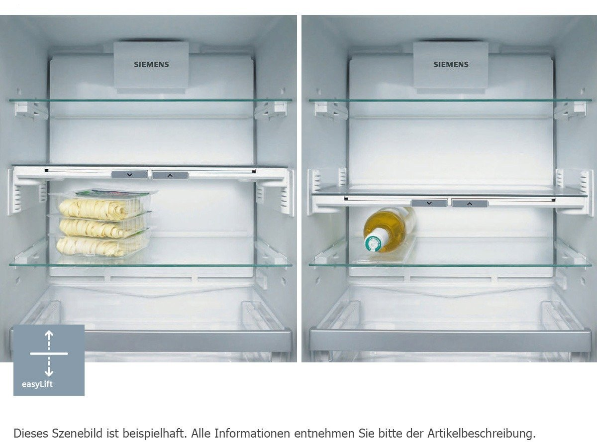 Siemens Kühlschrank Edelstahl : Siemens ka99nai35 side by side edelstahl nofrost touchcontrol 186cm