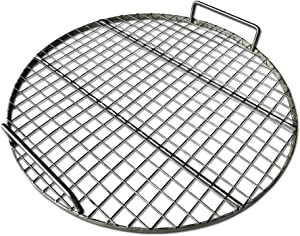 """LavaLockⓇ Stainless Steel 22"""" inch Round Grill Grate - Fits Weber Kettle Performer Weber Smokey Mountain UDS Ugly Drum Smoker Barrel Fire Pit"""