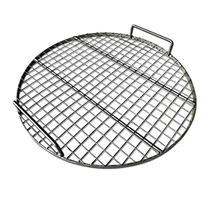 49c3d3fe7ccad LavaLockⓇ STAINLESS STEEL 22 quot  inch Round Grill Grate - Fits Weber  Kettle Performer Weber