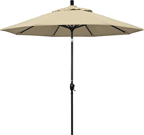 California Umbrella GSPT908302-5422 9' Round Aluminum Market