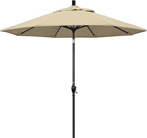 California Umbrella GSPT908302-5422 9' Round Aluminum Market