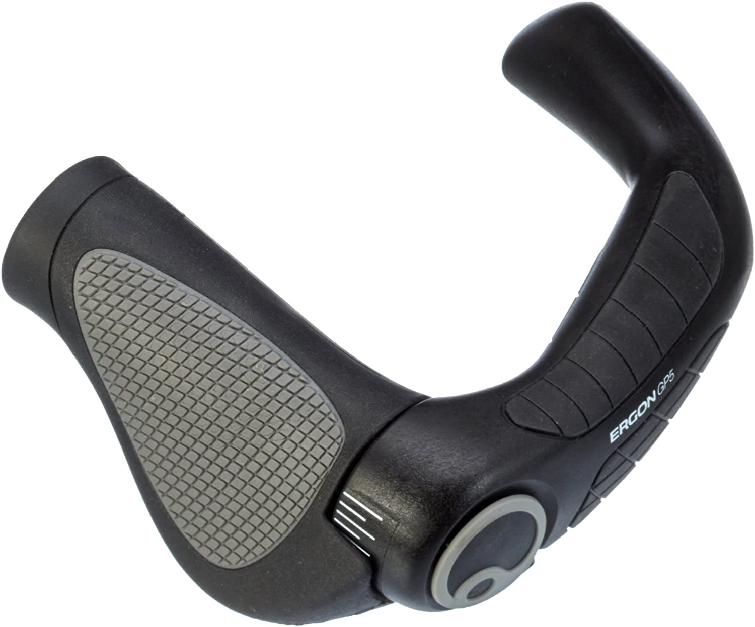 Ergon GP5-L Gripshift Large Black//Gray