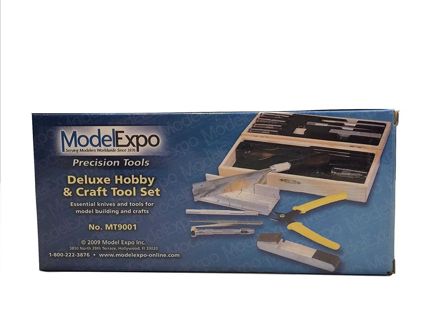 Model Expo Deluxe Hobby /& Craft Tool Set Designed for Wood and Metal Modeling Sale Save 43/%