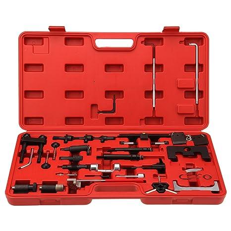 ridgeyard 36 piezas ajustar juego de herramientas para encendido de motor VW AUDI VAG Skoda Asiento