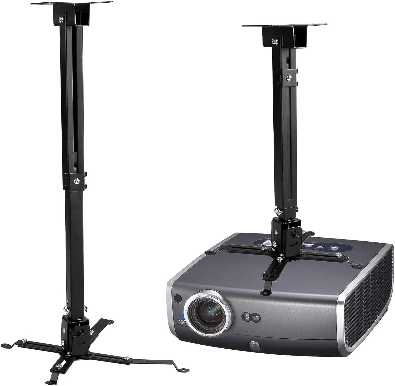 Soporte de proyector para techo universal extensible y ajustable ...