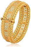 Senco Gold 22k (916) Yellow Gold Bangle for Women