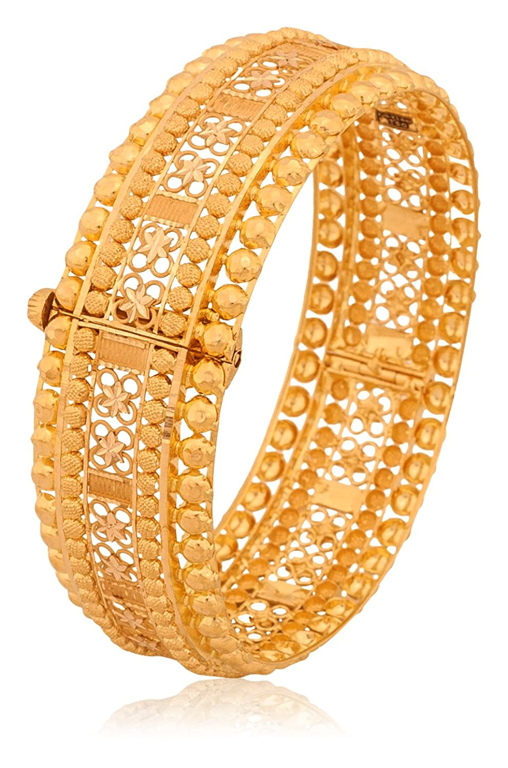 Buy Senco Gold 22k Yellow Gold Bangle Online at Low Prices in ...