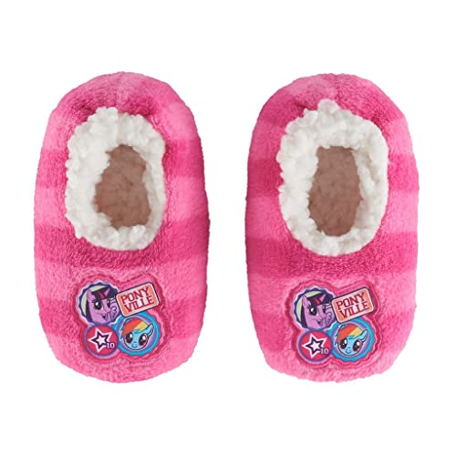5d631fd0bb1 Image Unavailable. Image not available for. Color  My Little Pony Toddler  Babba Fuzzy Slipper Sock ...
