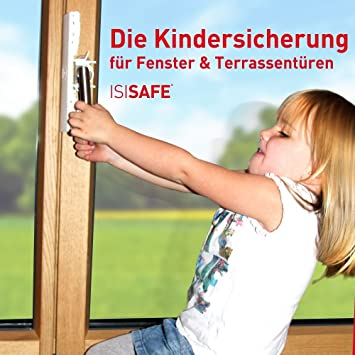 Isi Safe Sécurité Enfants Pour Fenêtre Sans Perçage Amazonfr