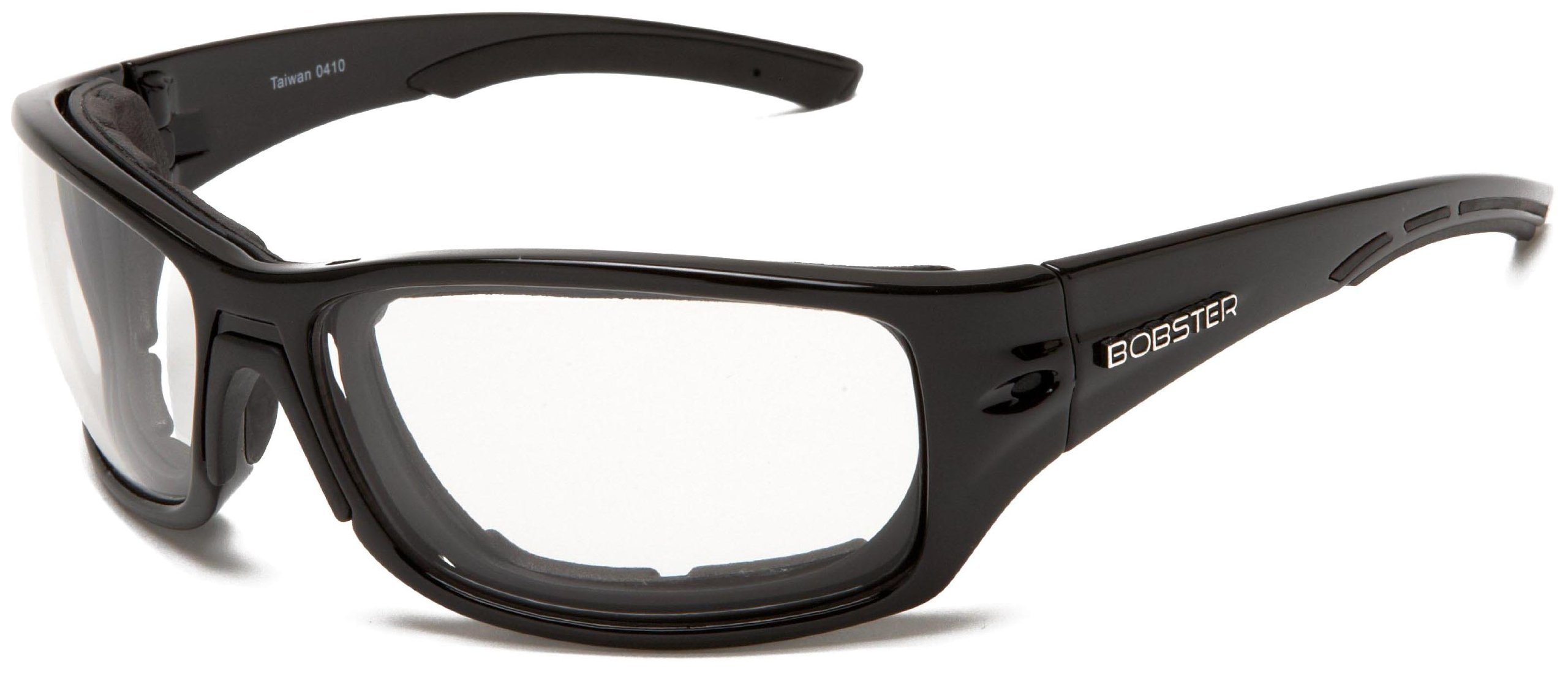 Bobster Rukus Photochromic Sunglasses, Black Frame/Smoke Lens