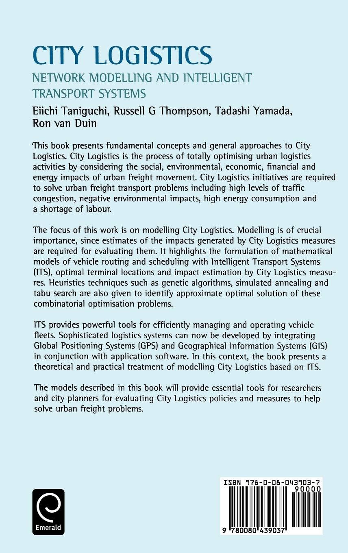 City Logistics: Network Modelling and Intelligent Transport ...