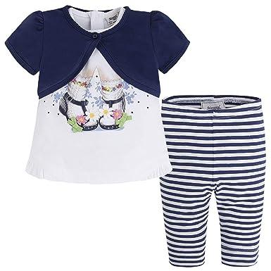 ec4a98259b17 Amazon.com  Mayoral Chic Baby Girls 3M-24M 3-Piece Novelty Print ...