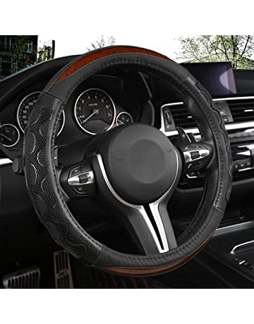 Odorless Gdewcro 100 Dollar Bill Auto Car Elastic Steering Wheel Cover,Universal 15 Inch Fit,Neoprene Rubber Steering Wheel Protector Anti Slip Durable