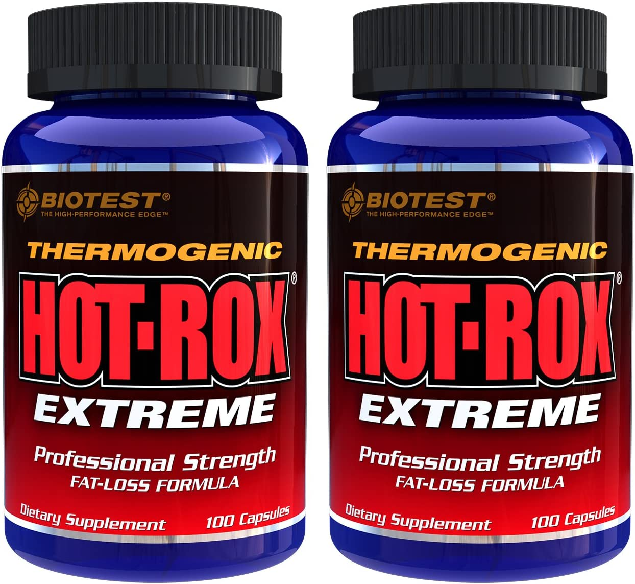 Hot-Rox Extreme, 2 Pack 200 Capsules