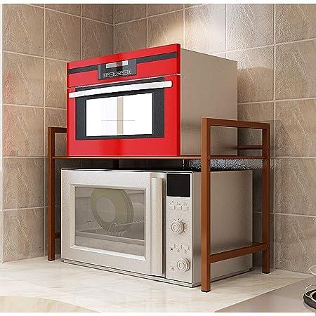 LIYONG Horno de microondas Soporte de Almacenamiento de la Cocina ...