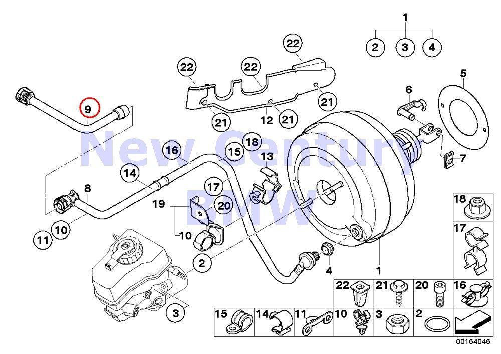 BMW Genuine Power Brake Unit Depression Vacuum Pipe 535i 535xi 535xi 135i M Coup/é 135i Z4 35i Z4 35is 335i 335xi 335i 335xi 335i 335xi 335is 335i 335is