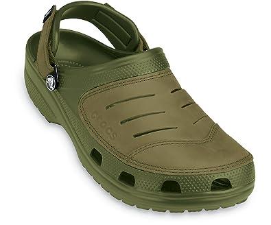 5506ba7ed4c6b Crocs Men s Yukon rounded tips green Size  10 UK  Amazon.co.uk ...
