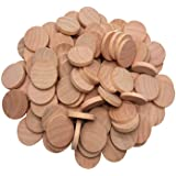 Axe Sickle Natural Wood Slices 1 inch Unfinished Round Wood 60 pcs These Round Wood Coins for Arts & Crafts Projects…