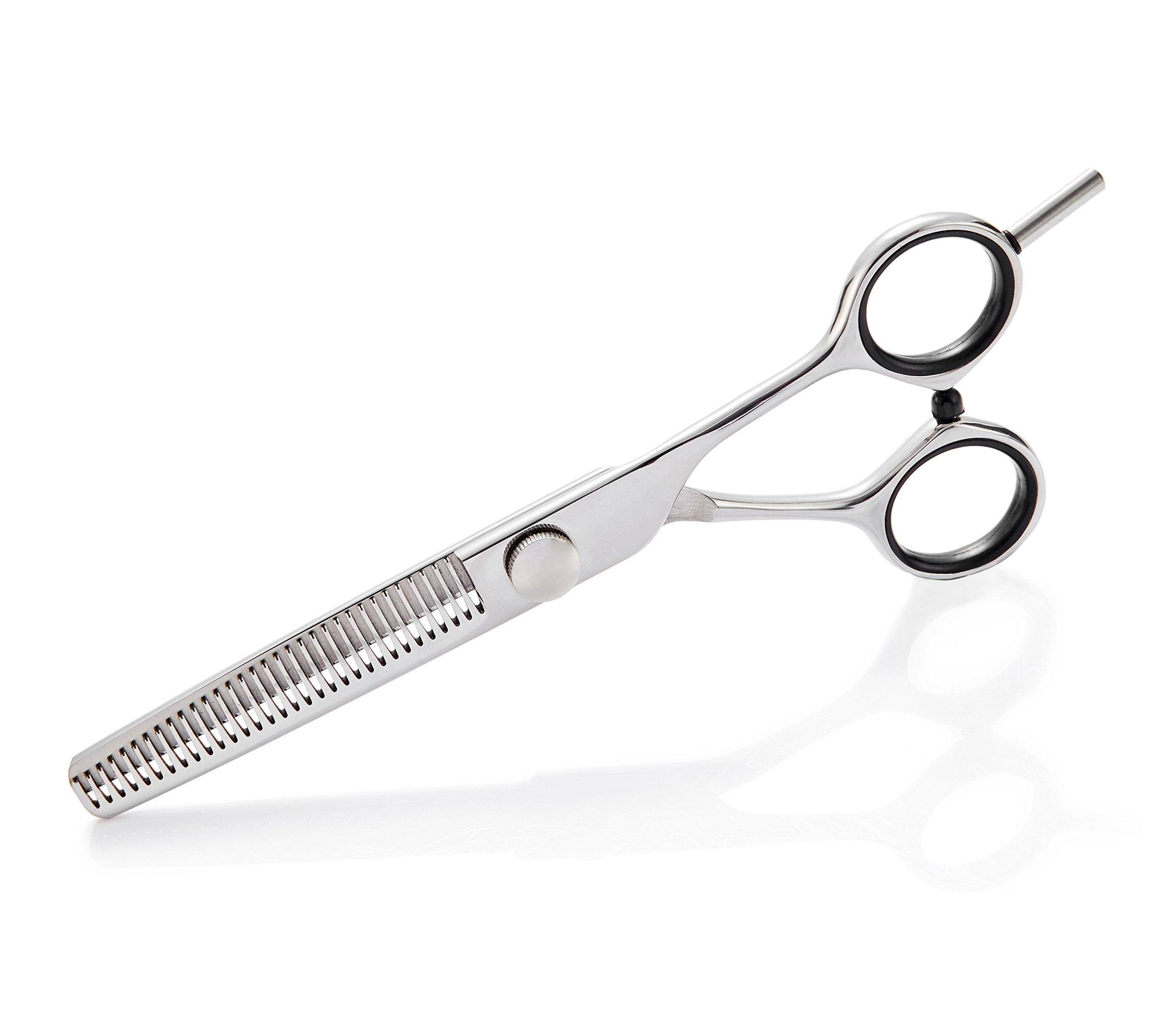 2018 Professional Hair Cutting Scissors Set,Japanese 6.5 Inch Hair Scissors Teflon Shears Hairdressing Scissors Barber Thinning Scissors Hairdresser Razor Edge Haircut Right hand use by JAVENPROLIU (Image #7)