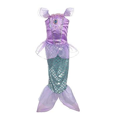 Dressy Daisy Girls' Princess Mermaid Fairy Tales Costume Cosplay Fancy Dress Party: Clothing