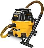 DEWALT 9 Gallon Wet/Dry VAC Heavy-Duty Shop Vacuum with Attachments, 5
