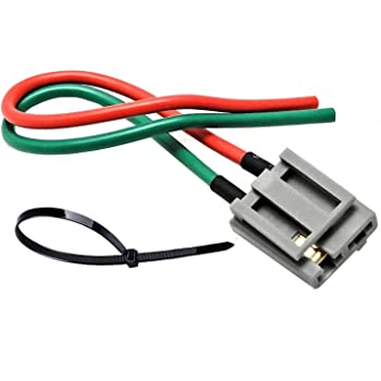 amazon com hei distributor connector wire harness pigtail 12v rh amazon com
