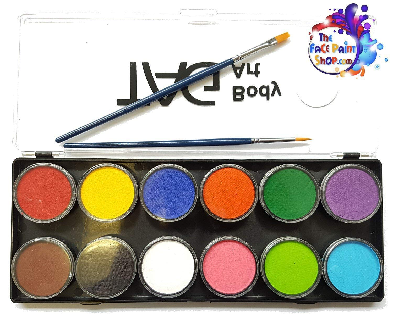 Tag Face Paint Palette Regular 12 Colors