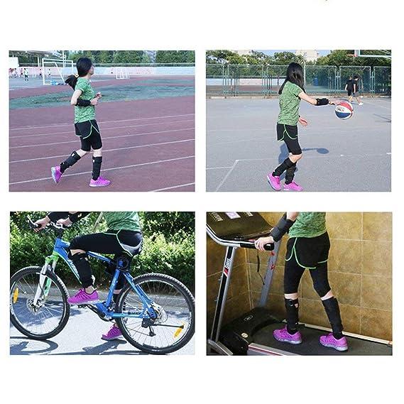 73JohnPol Equipo de Entrenamiento de Legging de Brazo//Tobillo Ajustable Pesas Bolsa de Arena 1-20 kg Entrenamiento con Pesas para Boxeo Gym Running Color: Negro tama/ño: 5-10 kg
