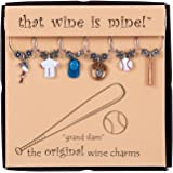 Grand Slam Wine Charms Set of 6