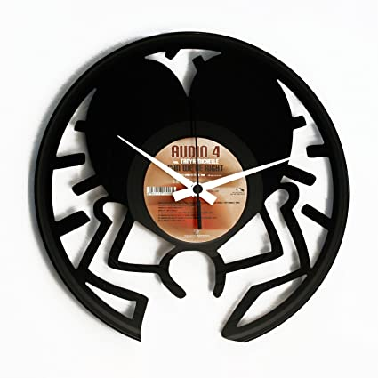 DiscOClock Reloj en Vinilo Keith