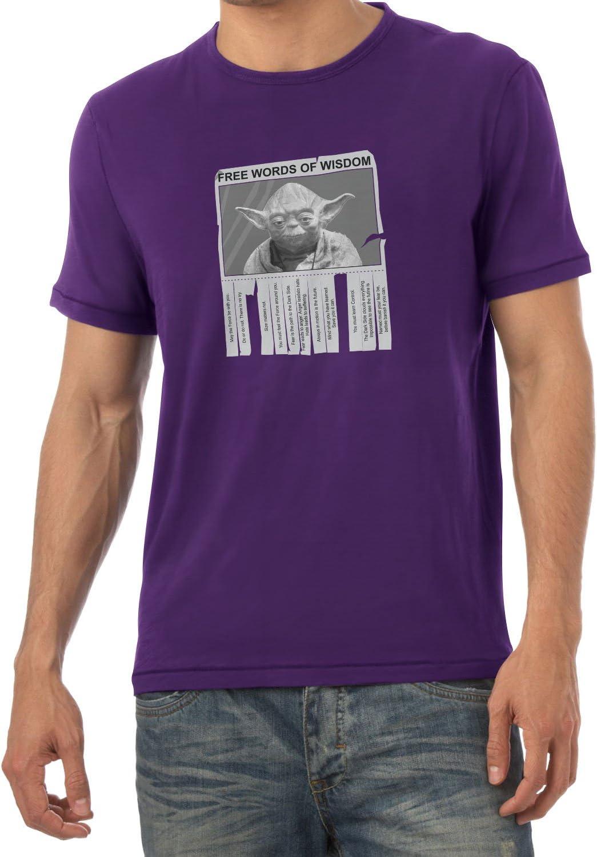 Nerdo Words of Wisdom T-Shirt Uomo