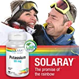 Solaray Potassium Supplement, 99 mg, 200 Count