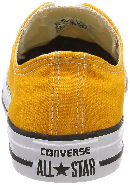 Converse Chuck Taylor CTAS Ox Canvas, Chaussures de Fitness Mixte Adulte, Orange (Orange Ray 801), 39/40 EU