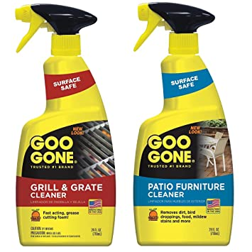 Delightful Outdoor Cleaning Kit   Goo Gone Grill U0026 Grate Cleaner, 24 Fl Oz, And