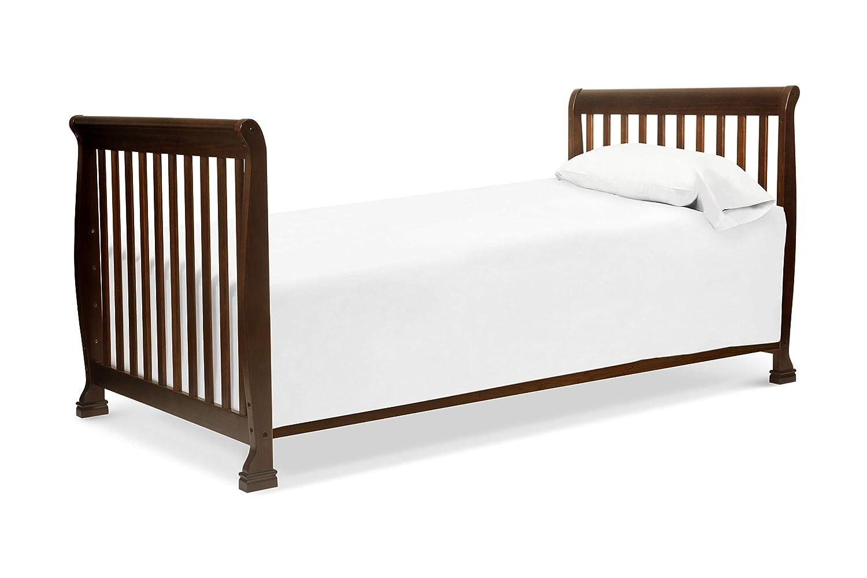 DaVinci Kalani 2-in-1 Mini Crib and Twin Bed in Ebony Finish