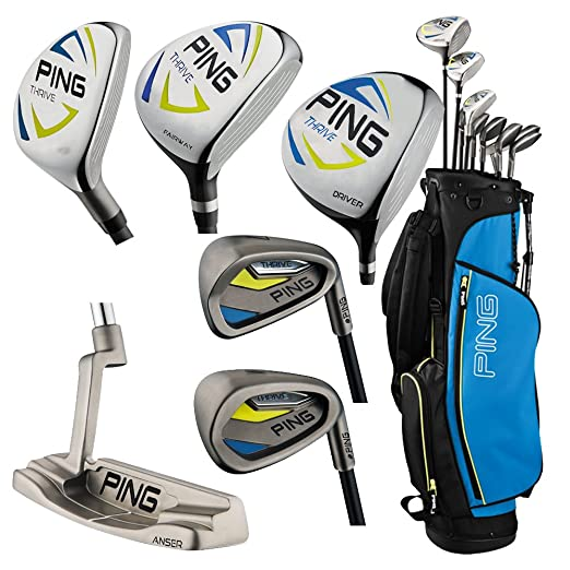 Amazon.com : Ping Thrive Teen Complete Golf Sets, Right, 13 ...