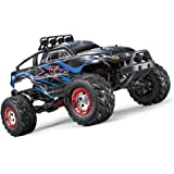 Tecesy RC Truck 1/12 Remote Control Car 2.4Ghz Brushed Motor 22MPH 4WD Off-Road Vehicle RTR Bule Vehicle