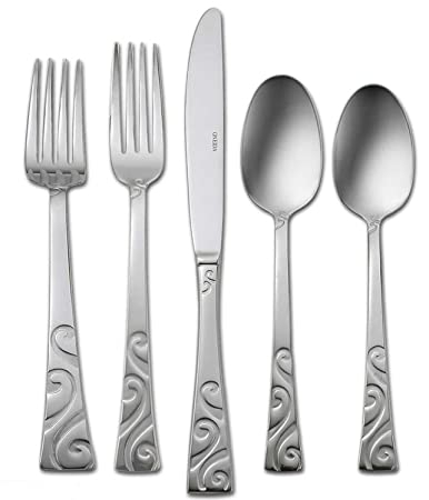 Amazon.com | Oneida Stanhope 42-Piece Stainless Steel Flatware Set, Service for 8: Serving Sets