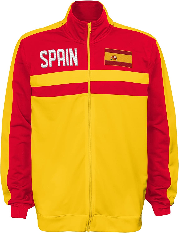 Team color International Soccer Argentina Mens Outerstuff Track Jacket X-Large