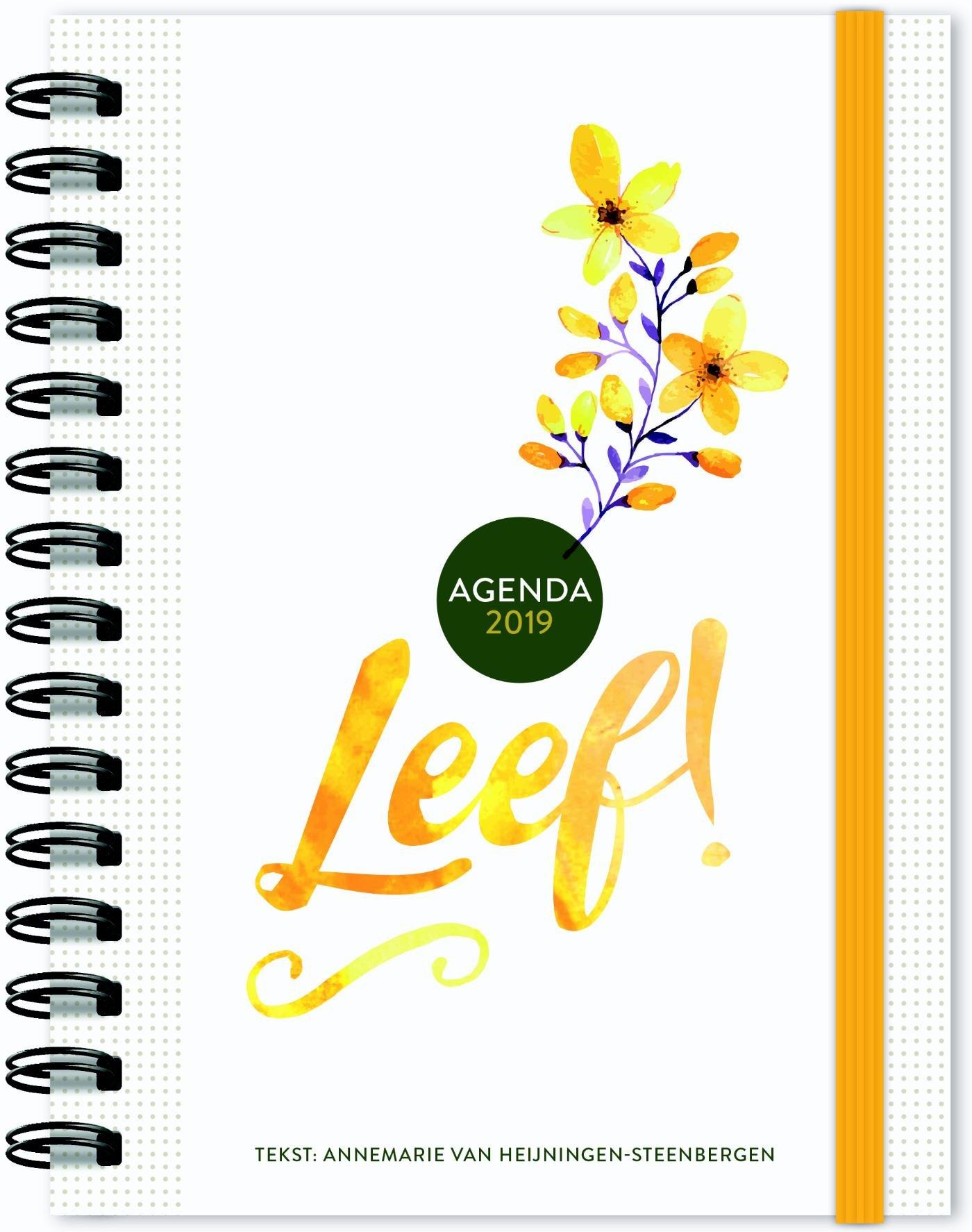2019 (Leef! Agenda): Amazon.es: Annemarie van Heijningen ...