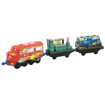 Piezas El De Die Pintura3 Vagón Cast Locomotora Wilson Chuggington Y L4AR5j