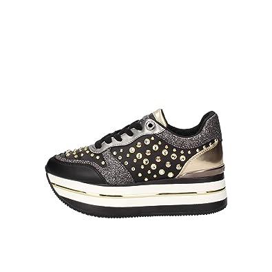 Scarpe Borse E Sneakers Donna Amazon it Guess Fl5hamele12 w0X8qqR