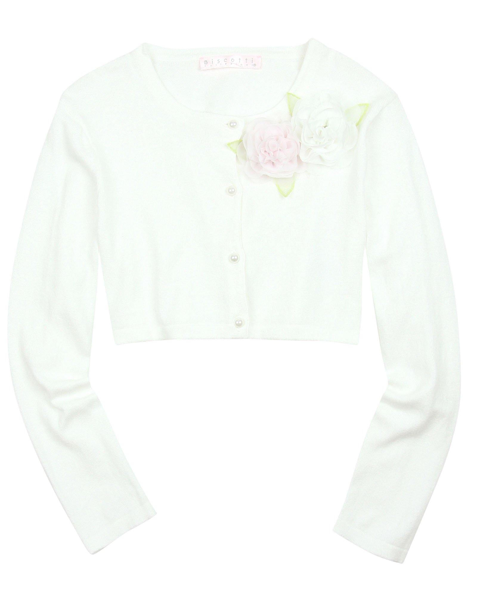 Biscotti Girls' Knit Cardigan Wedding Belles, Sizes 7-16 (M)