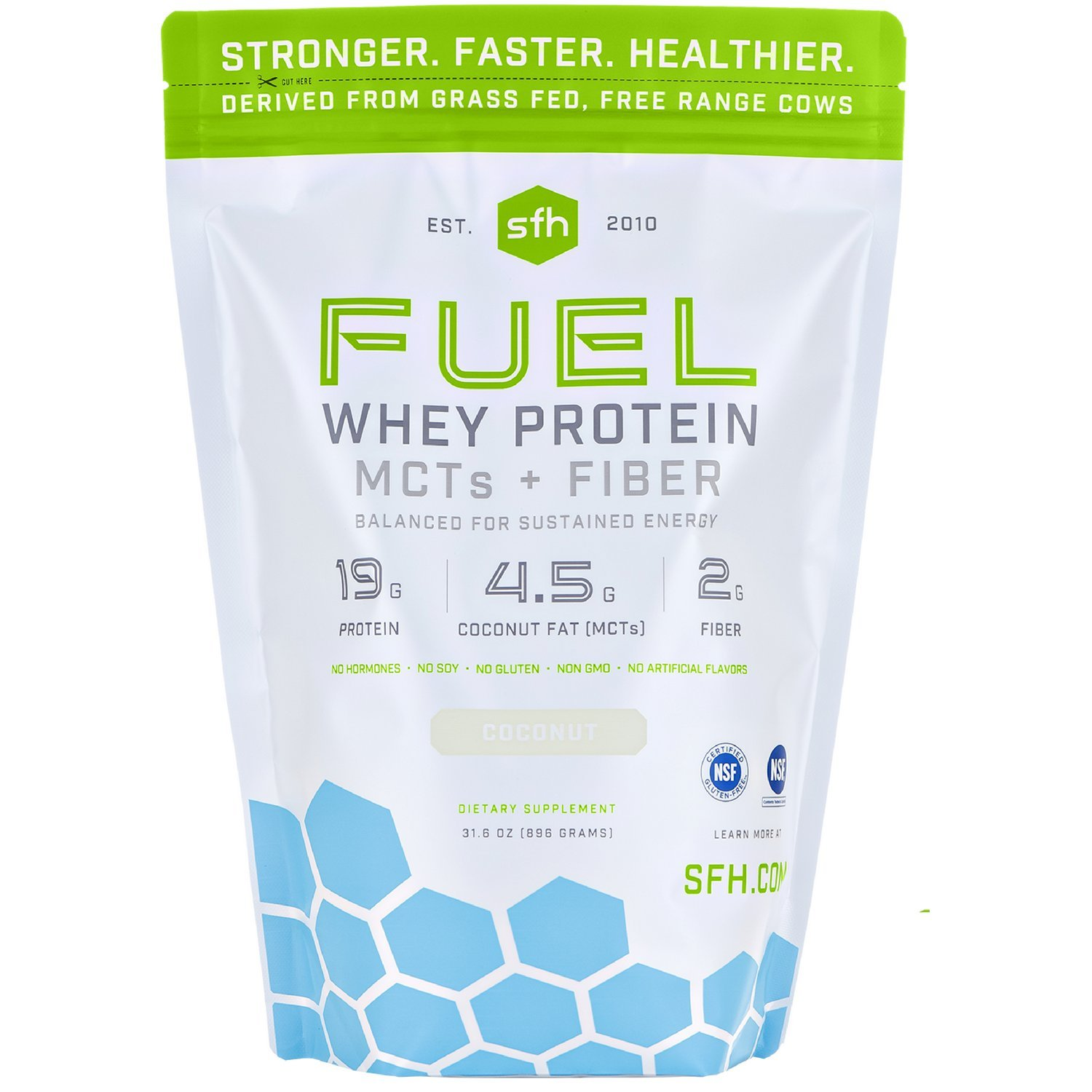 SFH FUEL Whey Protein Powder (Coconut)