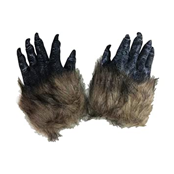 Amazon.com: THEE One Pair Wolf Paws Claws Halloween Cosplay ...